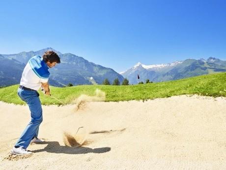 Abschlag, Golfclub Zell am See