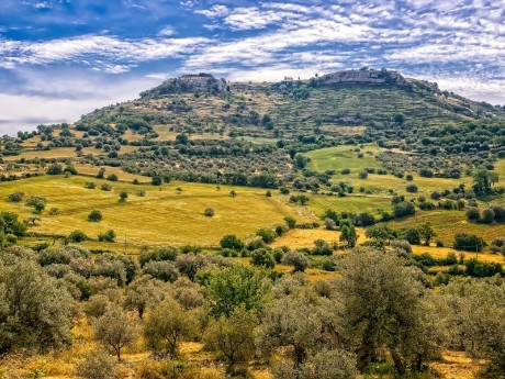 Italien-Sizilien-Landschaft