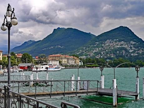 Seepromenade in Lugano