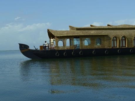Hausboot des Kumarakom Lake Resorts