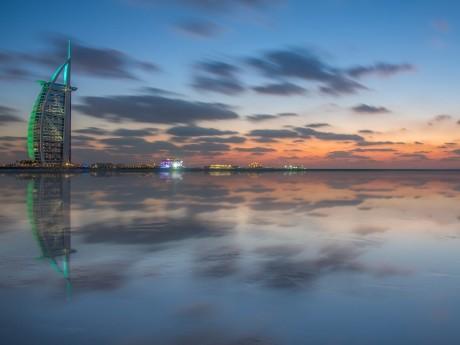 Dubai und das berühmte Burj Al Arab