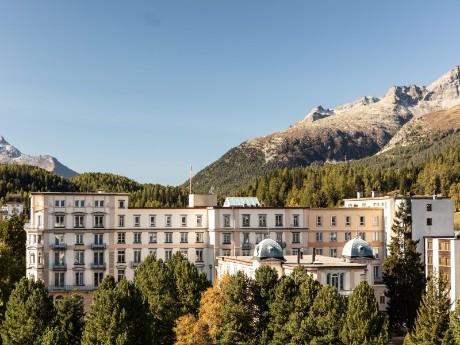 Reine Victoria mit Bergen, St. Moritz