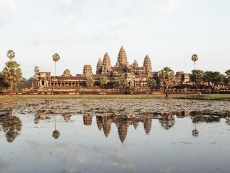 Weltkulturerbe Angkor Wat