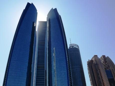 Modernes Abu Dhabi
