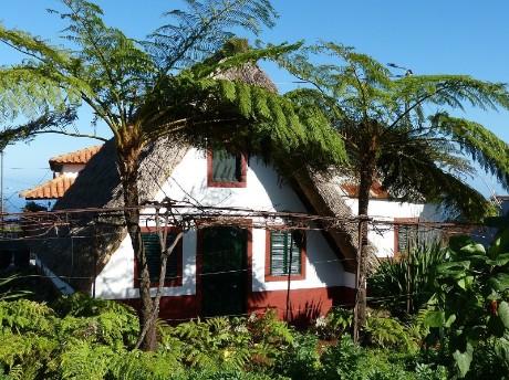 Typisches Bauernhaus in Santana, Madeira
