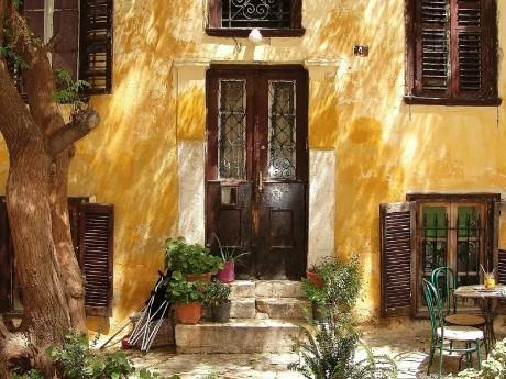Historisches Haus in Athen