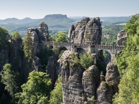 Sächische Schweiz_Bastei Brücke_nah