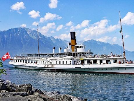 schweiz-genf-genfer see-steamboat