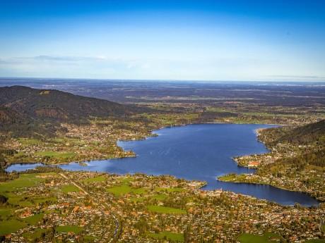 Luftbild Tegernsee