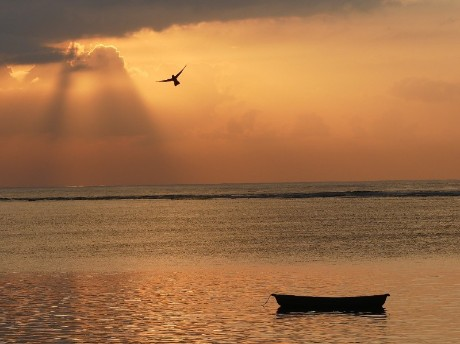 Sonnenaufgang in Sanur