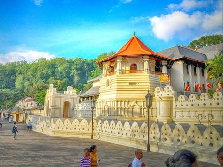 Der Zahntempel von Kandy