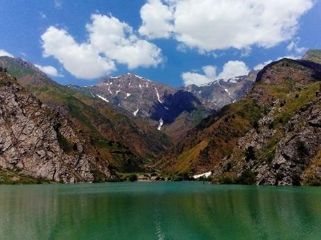Aktiv im Chimgan Gebirge