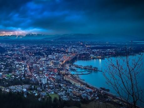 Luftbild von Konstanz