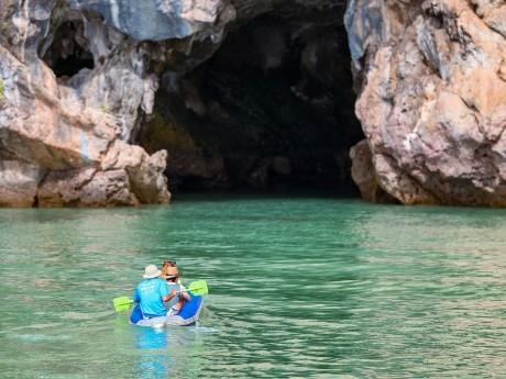 Kayaken in Hings, Phang Nga