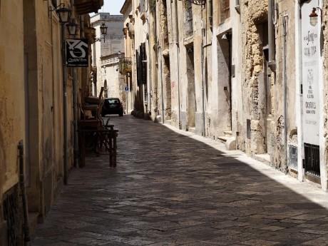 Italien-Lecce-Gasse