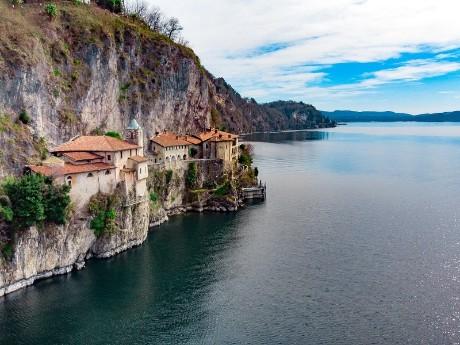 Santa Caterina del Sasso, Lago Maggiore