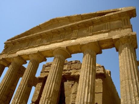 Italien-Sizilien-Tal der Tempel