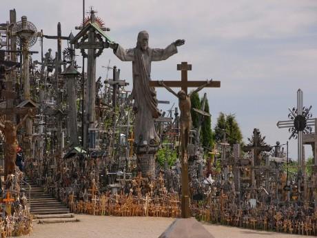Beliebter Wallfahrtsort: Berg der Kreuze