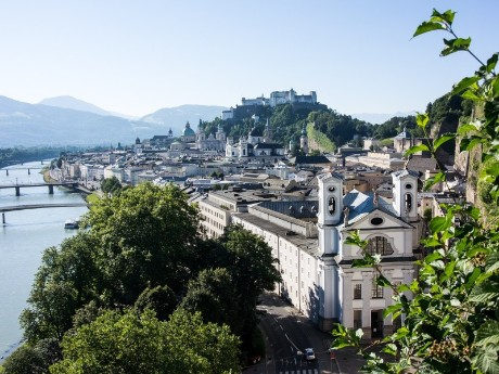 Aussicht auf Salzburg