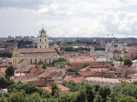 Panorama von Vilnius