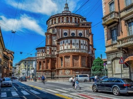 Straße in Mailand
