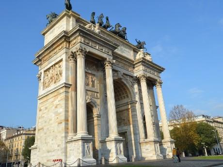 Triumphbogen, Mailand