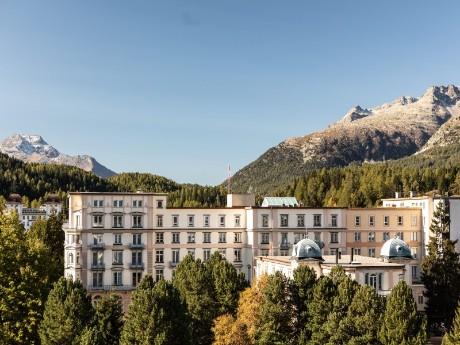 Hotel Reine Victoria, Aussenansicht