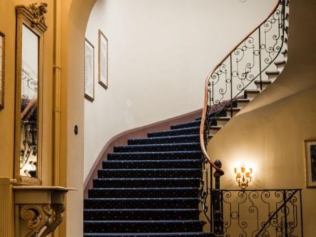 Hotel Reine Victoria, Eingangsbereich