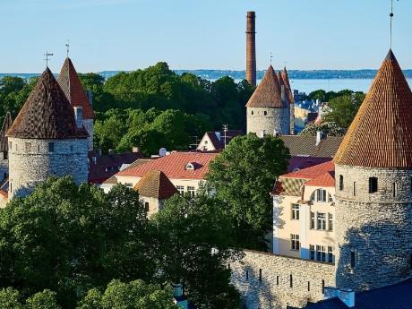 Mittelalterliche Türme von Tallinn