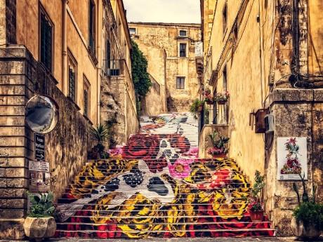 Italien-Sizilien-Noto-Altstadt