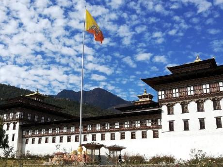 Tempel im Thimphu