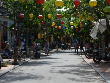Straßen von Hoi An
