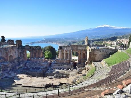 Italien-Sizilien-Taormina