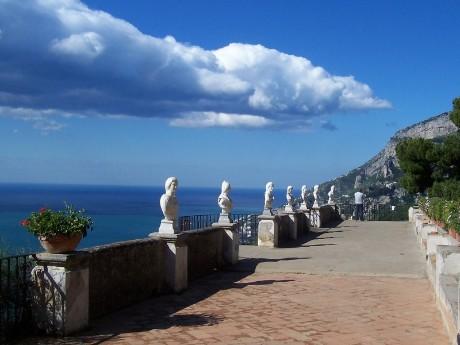 Italien-Sorrent-Uferpromenade