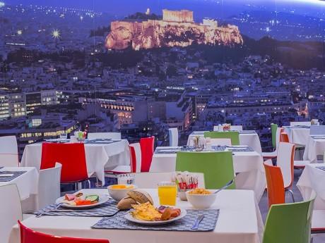giechenland-athen-novus hotel-ausblick