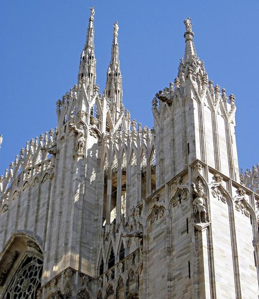 Europa Italien Mailänder Dom Nahaufnahme