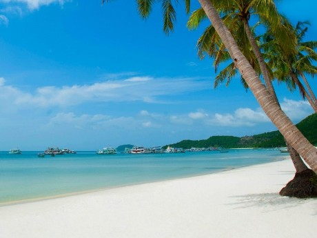 Erholung am Strand in Phu Quoc