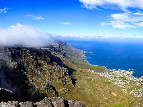 Aussicht auf den Tafelberg
