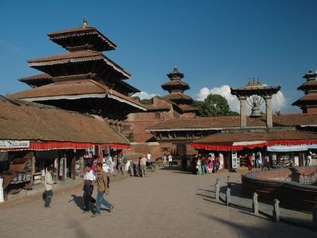 Aufenthalt in Kathmandu
