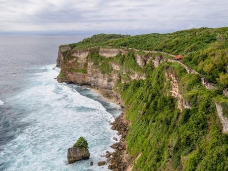 Küstenstraße auf Bali