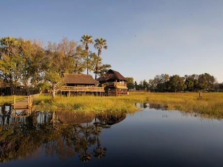 Gunns Camp im Moremi Nationalpark