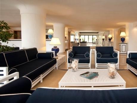 Italien-Hotel Del Levante-Lobby