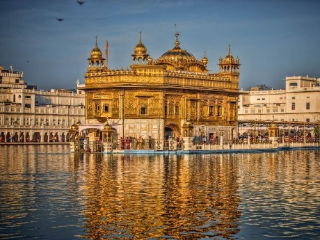 Amritsar - Goldener Tempel & Wagah Grenze